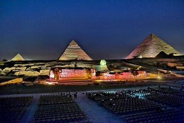 Sound and Light Show of the Pyramids with Private Transfer