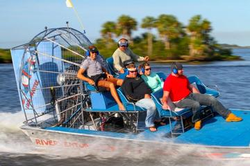 St Martins Gran Dolphinismo Small Group Airboat Adventure and Dolphin...