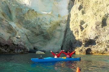 Découverte du sud en kayak de mer à Santorin