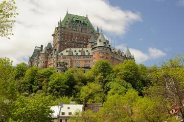 Viagem de um dia pela cidade de Quebec e Cataratas de Montmorency...