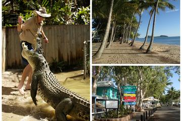 Hartley's Crocodile and Beach Combo from Cairns