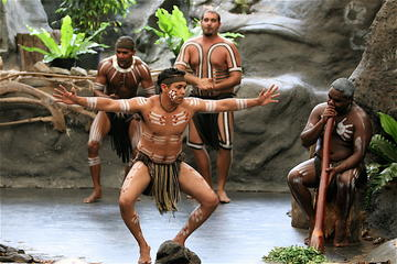 Tjapukai Indigenous Culture Experience and Palm Cove Day Trip from Cairns