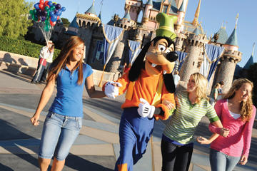 Disneyland o Disney's California Adventure con trasporto partendo da