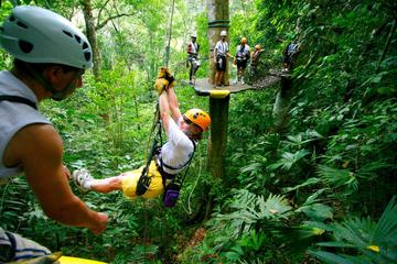 Adventure combo tour Zip line and Tortuguero canals