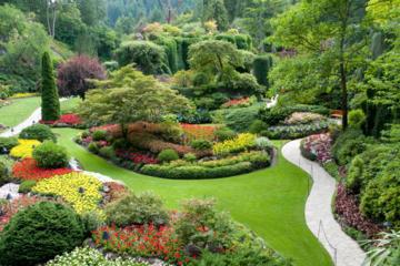 Private Tour: Von Vancouver nach Victoria und in die Butchart Gardens