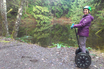 Segway Tour of the Botanical Gardens at the University of British...