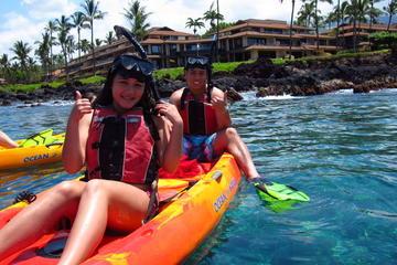 Remo, buceo de superficie y clase de surf, todo en un día en Maui