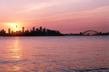 Sunset Sailing on Sydney Harbour