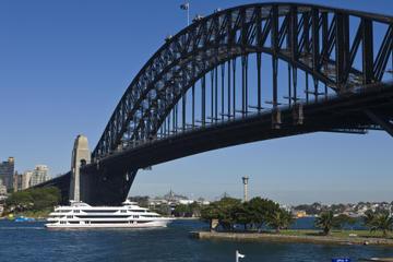Café-croisière dans le port de Sydney