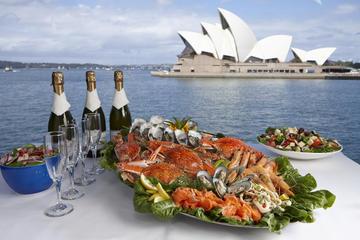 Crucero con almuerzo bufé de marisco en el puerto de Sídney