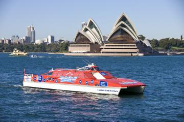 Stig på/stig af-havnesejlads i Sydney Havn
