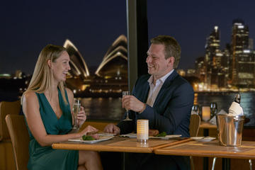 Sydney Harbour Sky Deck Gold ...