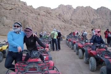TOTAL DESERT SAFARI 5 IN ONE QUAD BIKE AND CAMEL RIDE AND STARGAZING...