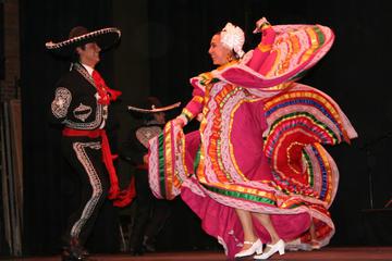 Excursão particular: Balé folclórico na Cidade do México