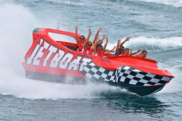 Thriller Jet Boat and Buccanos Beach Break Tour in