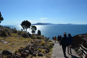 Full-Day Guided Lake Titicaca Tour: Uros Floating Islands and Taquile...