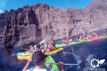 Excursión en kayak por los acantilados de los Gigantes en Tenerife