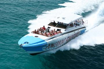Aventure en hors-bord à Exuma