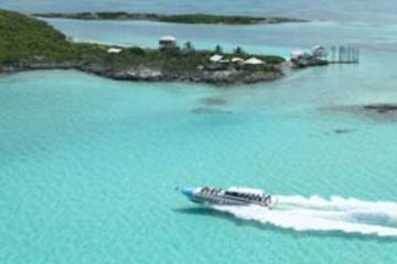 Escursione della costa di Nassau: Exuma Powerboat Adventure