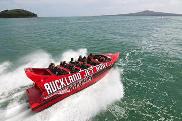 Extreme Jet Boat Ride on Auckland's Beautiful Harbour