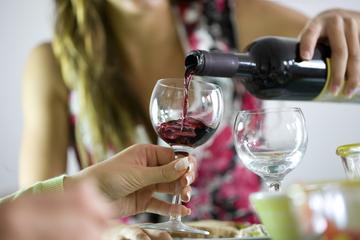 Provning av spanska viner i Barcelona