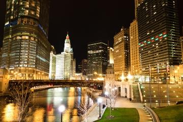 Excursão noturna de segway em Chicago