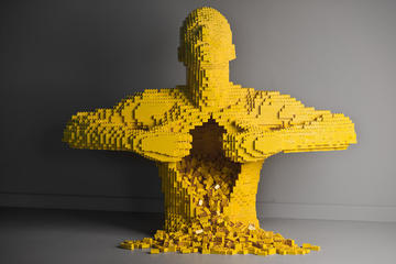 The Art Of The Brick at Pacific Science Center