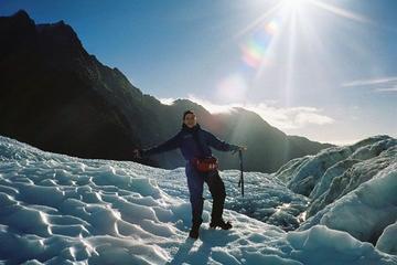 Hélico-rando sur le Franz Josef