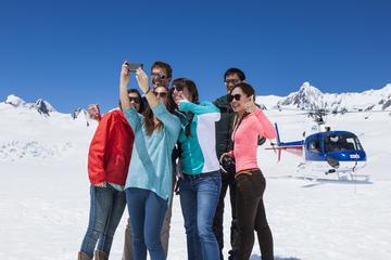 Hubschrauberflug zum Fox Glacier und...