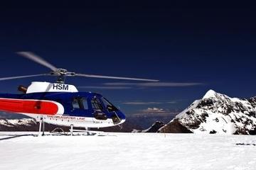 Voo de helicóptero de geleira dupla partindo de Fox Glacier