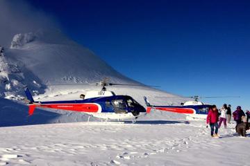 Voo de helicóptero do Descobridor Fox Glacier Neve