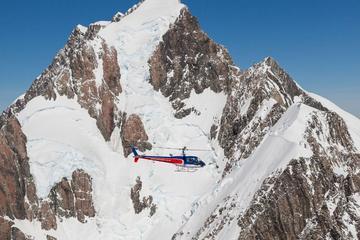 Voo de helicóptero em Fox Glacier e Monte Cook