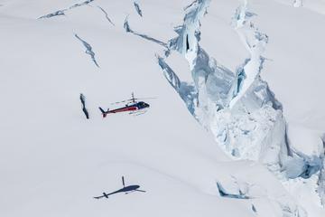 Vuelo panorámico en helicóptero sobre el glaciar Fox