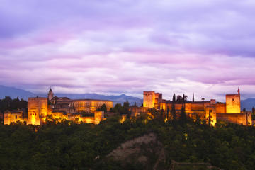 Independent Alhambra Night Tour with GPS Audio Guide