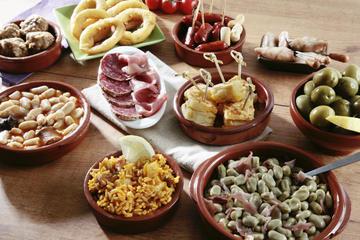 Tour a piedi di Granada con cena a base di tapas