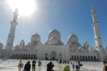 Full-Day Tour of Abu Dhabi City From...