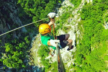 Zipline Experience in Bovec