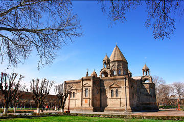 Echmiadzin Mother Cathedral - Hripsime Church - Gayane Church and...