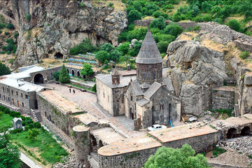 Garni Temple, Geghard, and Lavash...