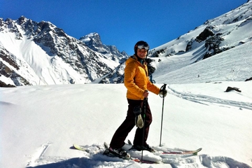 Excursão privada: Viagem de um dia para o Portillo Ski Resort, saindo...