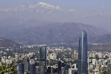 Excursão turística da cidade de Santiago
