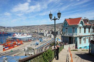Viagem diurna a Viña Del Mar e Valparaíso saindo de Santiago