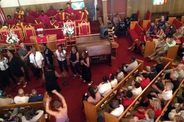 Gospeltour op woensdagochtend in Harlem