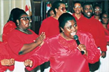 Gospeltur i Harlem på en söndagsförmiddag