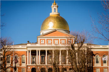 Spaziergang auf dem Boston Freedom...
