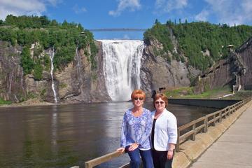 Trip van een halve dag vanuit Quebec naar de watervallen van ...