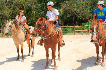 Horseback Riding Tour with Cenote Visit