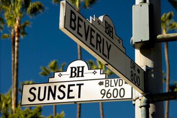 Filmstjernernes hjem i Hollywood og...