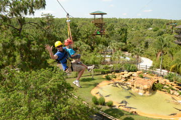 Admission to Gatorland and Zip Line
