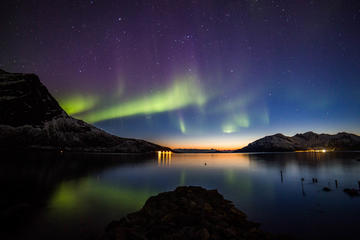 Safari hacia la aurora boreal desde...
